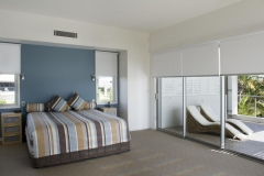 roller blinds for a bedroom in brisbane