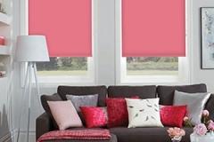 carnival pink roller blinds brisbane