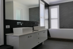 modern bathroom shutters brisbane