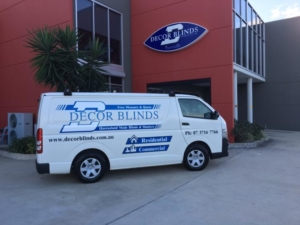decor blinds brisbane van