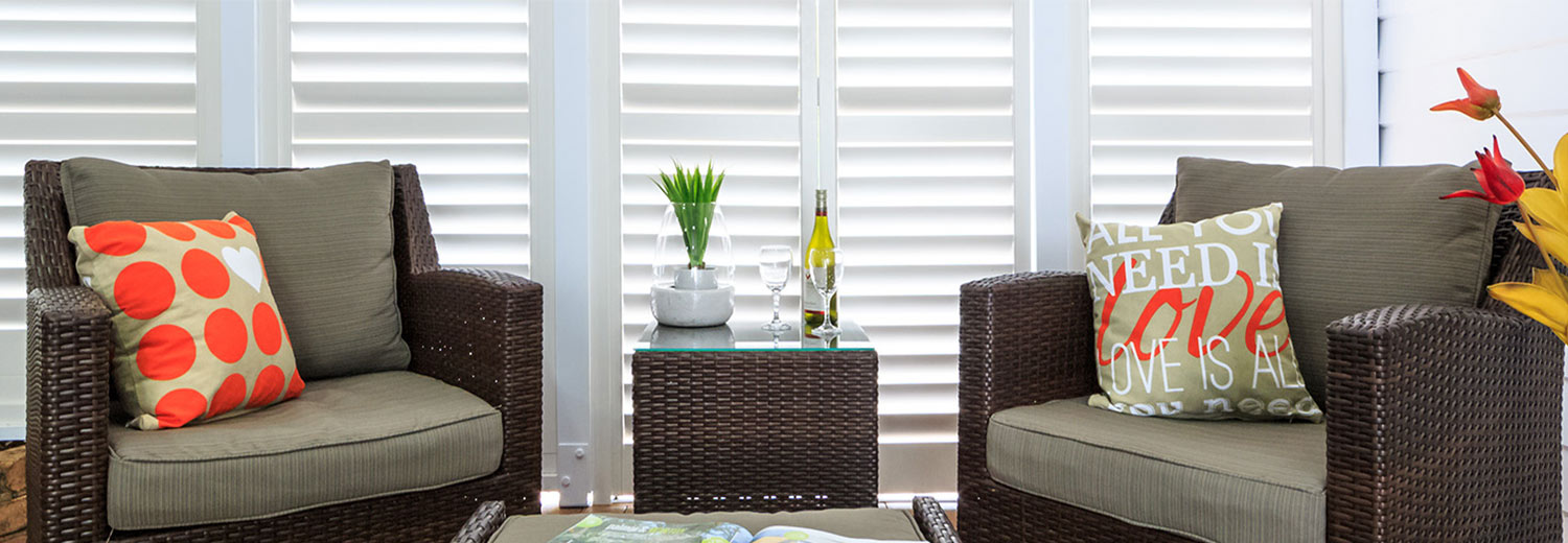 dining plantation shutters brisbane
