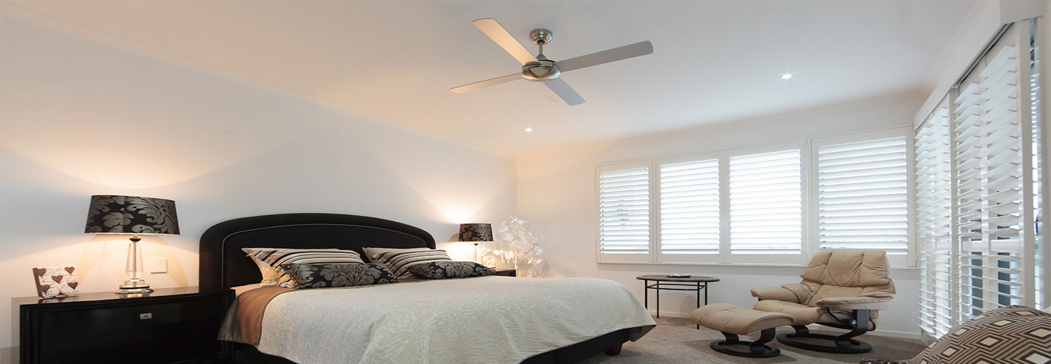 bedroom plantation shutters gold coast