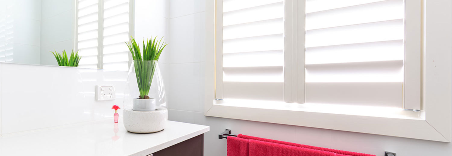 bathroom plantation shutters in brisbane